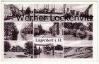 Ansichtskarte Lägerdorf bei Itzehoe mehrfach Zementwerk Neue Siedlung