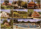 Ansichtskarte Rosengarten-Sieversen Gasthaus von H.P. Holst Tannenhof Pension Diercks