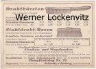 Wuppertal-Barmen Jülich Firma Schmilu Schmitz & Ludwig Drahtbürsten Geschäftswerbepostkarte