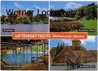 Ansichtskarte Preetz in Holstein Kirchsee Schwimmhalle Kremserfahrt Park