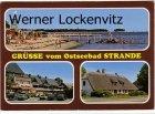 Ansichtskarte Strande bei Kiel mehrfach Bauernhaus Strand mit Steg Ferienwohnungen