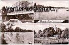 Ansichtskarte Berlin-Tegel Sechserbrücke Seepromenade