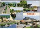 Ansichtskarte Luxemburg Remich Boote Straße Restaurant de la Moselle