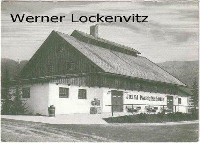Ansichtskarte Bodenmais JOSKA Waldglashütte Werbekarte