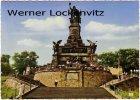 Ansichtskarte Rüdesheim am Rhein National Denkmal-Rüdesheim Niederwalddenkmal
