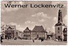 Ansichtskarte Glückstadt Elbe Markt