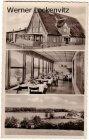 Ansichtskarte Behlendorf bei Mölln Berkenthin Gasthaus-Pension Behlendorf Bes. A. Lahtz mit Landpoststempel