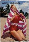 Ansichtskarte Mode Frau im Badeanzug