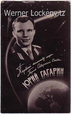 Ansichtskarte Russland Russischer Kosmonaut astronaut Rakete Weltall Erde