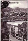 Ansichtskarte Cartolina Postale Italien Italia Vipiteno Sterzing Südtirol mehrfach Panorama Straße
