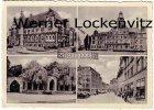Ansichtskarte Recklinghausen Kreishaus Rathaus Ehrenmal Marktplatz