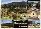 Ansichtskarte Braunlage Ortsansicht Jugendherberge Kirche Seilbahn Kurpark