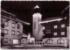 Ansichtskarte Österreich Westendorf Tirol Winternacht im Skiparadies mit Gasthof Mesnerwirt
