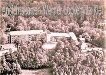 Ansichtskarte Tötensen Kr. Harburg Ev. Stiftung Krankenhaus Ginsterhof Luftbild