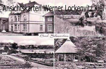 Ansichtskarte Bad Schwartau Pension Carstens An der Au