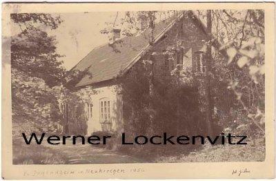 Ansichtskarte Neukirchen über Sörup Ev. Jugendheim Pastorat Landpoststempel