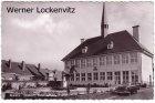 Ansichtskarte Belgien Perwez Brabant Hotel de Ville mit Opel
