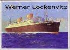 Ansichtskarte Vierschrauben-T.S. Bremen NDL Bremen sign. Robert Schmidt-Hamburg Seepoststempel Marinemaler