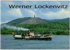 Ansichtskarte Dänemark Himmelbjerget mit Dampfer Hjejlen