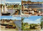 Ansichtskarte Neustadt-Pelzerhaken mehrfach Strand Minigolf