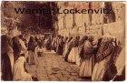 Ansichtskarte Israel Jerusalem Klagemauer mit Stempel Militär Mission