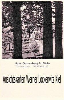 Ansichtskarte Scharbeutz-Pönitz Haus Gronenberg