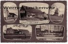 Ansichtskarte Bramstedt bei Bremerhaven mehrfach Kaufhaus Mönkeberg Mühle Schule Kirche