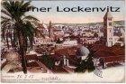 Alte Ansichtskarte Israel Jerusalem Panorama