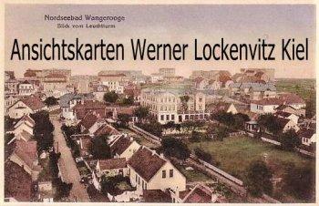 Ansichtskarte Nordseebad Wangerooge Blick vom Leuchtturm auf den Ort
