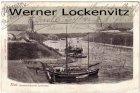 Ansichtskarte Kiel-Suchsdorf Hochbrücke bei Levensau Schiffe landen an