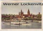 Ansichtskarte Mainz am Rhein mit Binnenschiff Dampfer Vaterland