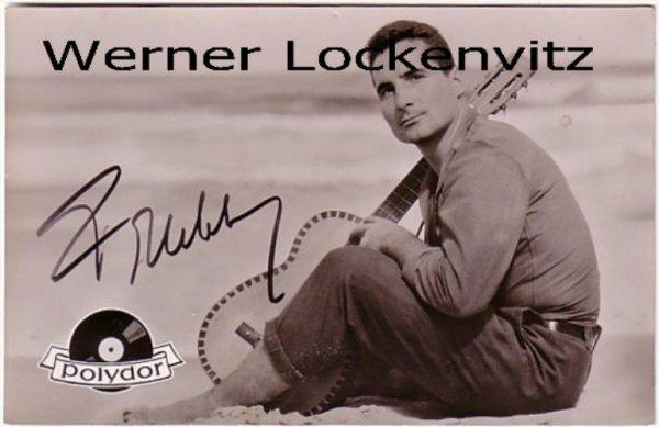 Ansichtskarte Autogrammkarte Freddy Quinn mit Originalautogramm