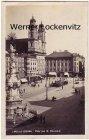 Ansichtskarte Österreich Linz an der Donau Platz des 12. November mit Straßenbahn Oberösterreich