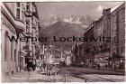 Ansichtskarte Österreich Innsbruck Maria-Theresien-Straße gegen die Nordkette mit Kaufhaus Kraus