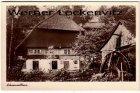 Ansichtskarte Schwarzwaldhaus mit Wassermühle