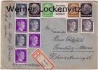 Norden Einschreiben Zusammendrucke Briefmarken Briefe