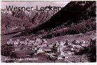Ansichtskarte Schweiz Pontresina Ortsansicht mit Albula und Crasta Mora Graubünden
