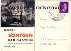 Ansichtskarte Österreich Bad Gastein Hotel Söntgen