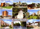 Ansichtskarte Bergisch Gladbach-Bensberg-Refrath mehrfach Kirchen Siedlung Kippehausen An der Wallburg