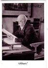 Ansichtskarte Friedrichsruh Bismarck an seinem Schreibtisch