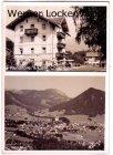 Ansichtskarte Ruhpolding Ortsansicht mit Konditorei & Cafe Chiemgau