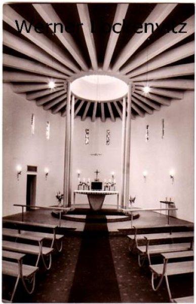 Ansichtskarte Bad Schwartau Kirche Maria-Königin Innenansicht