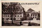 Ansichtskarte Bad Elster Sanatorium des VEB Kombinates Otto Grotewohl und Kurtheater