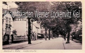 Ansichtskarte Nortorf Kielerstraße