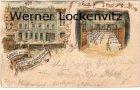 Ansichtskarte Kiel Gruss aus dem Kieler Gesellschaftshaus Kehdenstrasse Litho