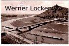 Ansichtskarte Porta Westfalica mit Denkmal und neuer Weserbrücke