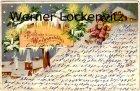 Ansichtskarte Fröhliche Weihnachten Weihnachtsmann fährt Schlitten
