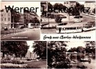 Ansichtskarte Berlin-Weißensee Klement-Gottwald-Allee mit Straßenbahn