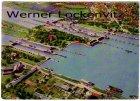 Ansichtskarte Brunsbüttel koog Schleusenanlagen Luftaufnahme