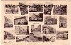 Ansichtskarte Carte Postale Belgien Frankreich Chistelle bei Ostende Straßenansichten